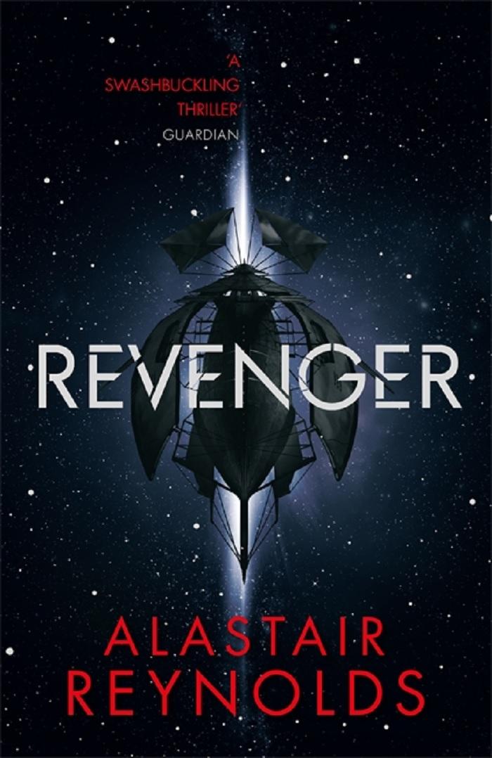 Revenger front cover, 2017, by Alastair Reynolds