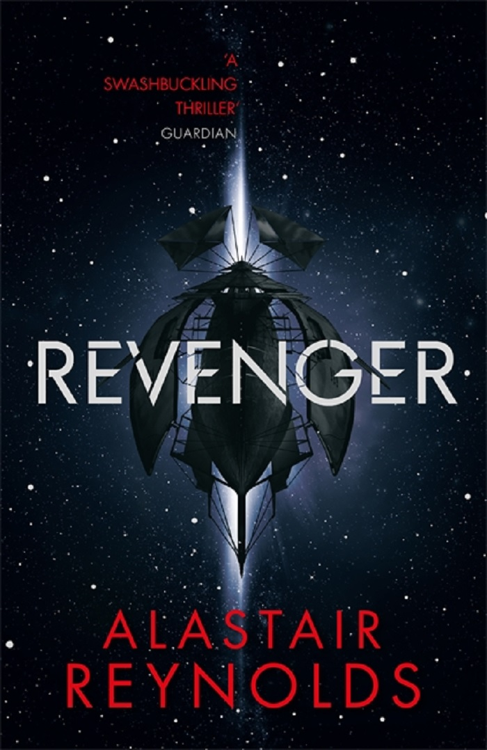 Revenger front cover, 2017, by Alastair Reynolds