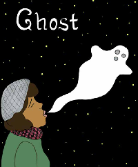 Title Cover for Ghost, Whit Taylor, 2018